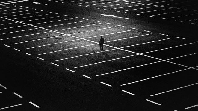 孤独な感じの画像